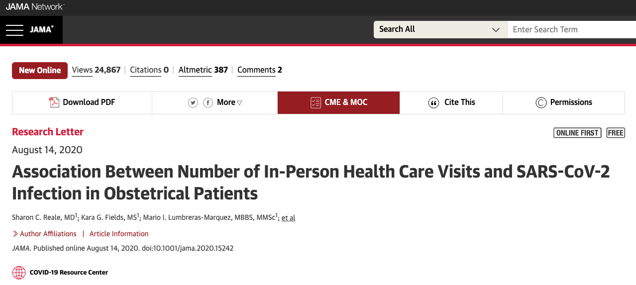 association-between-number-of-in-person-health-care-visits